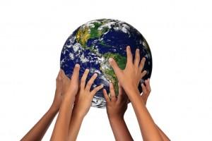 hands-on-globe